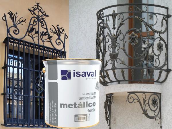 Антикоррозийная эмаль с эффектом ковки для защиты железа и стали, шероховатая графитовая краска Форха 4л до 48м2