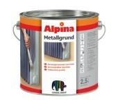 Антикоррозионная грунтовка для железа и стали Alpina METALLGRUND прозрачная. Для наружных и внутренних работ.