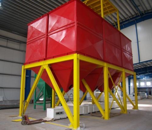 Антикоррозионное покрытие металлоконструкций технологического оборудования завода по переработке зерна