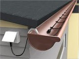 Антиобледенения водостоков,труб,кабель двужильный со встроенным термостатом  и вилкой 30 Вт/м Hemstedt DAS 5м.150Вт