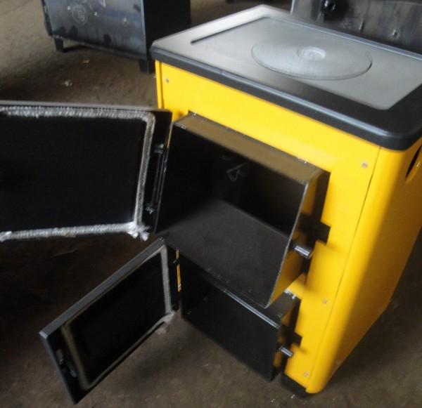 Аппараты отопительные бытовые КОТВ-10П предназначены для теплоснабжения зданий и домов площадью до 100 кв. м.