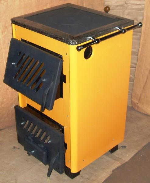 Аппараты отопительные бытовые КОТВ-18vip предназначены для теплоснабжения зданий и домов площадью до 180 кв. м.