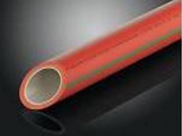 Aquatherm red pipe SDR 7,4 MF HI (Firestop) - полипропиленовые трубы для пожаротушения, армированные стекловолокном.