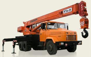 Аренда автокрана КС 4574 (Силач, КРАЗ 250)