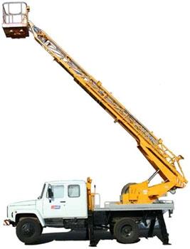 Аренда автовышки , услуги автовышки. Автовышки с высотой подъемника от 17м, 18м, 22м, и 28 метров.
