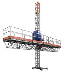 Аренда фасадной платформы Нек TPM Single Длина платформы: 10.4 м.