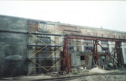Аренда и монтаж строительных лесов