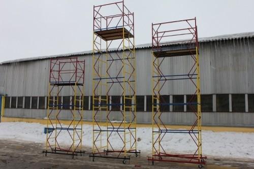 Аренда и продажа строительных вышек-тур в Харькове