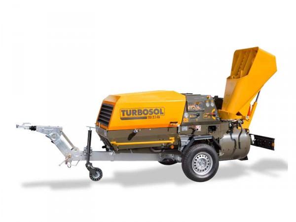 Аренда пневмоподатчика Turbosol D 250 для промышленного производства стяжек. (3-4 куб час) подача жёстких строит смесей