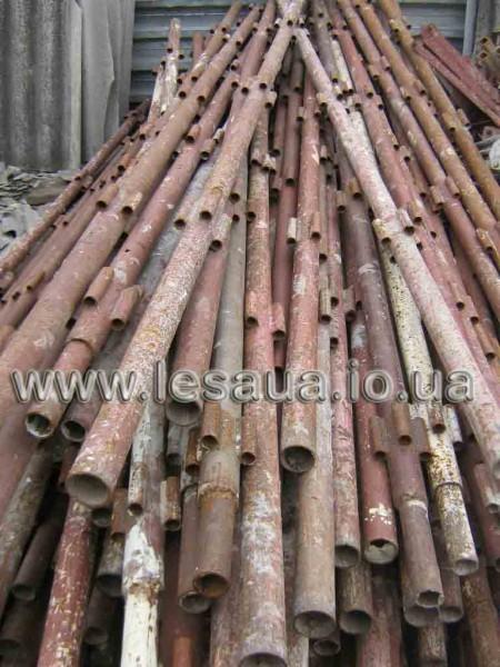Аренда ригельных строительных лесов для каменщиков с настилом и без.