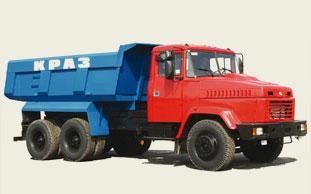Аренда самосвала КРАЗ 6510 (13 т, 13 куб.)