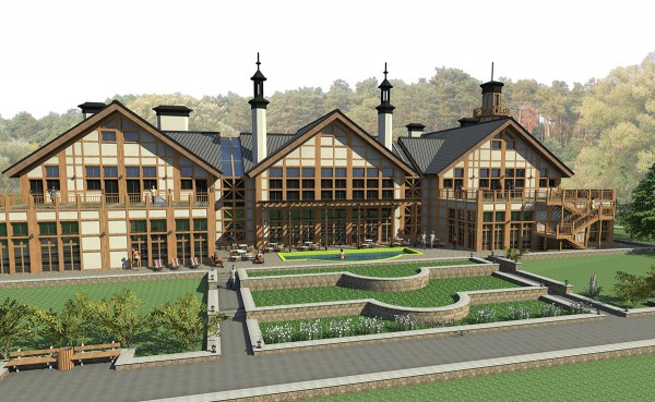 Архитектурное проектирование отелей, зон отдыха, SPA, спортивно оздоровительных комплексов.