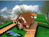 Архитектурное решение конструкции, ДИЗАЙН - ПРОЕКТ декора фасада здания, полный пакет документации.