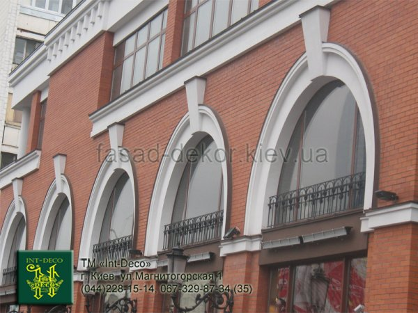 Фото 1 Арка из пенопласта- Фасадный декор от производителя 329072