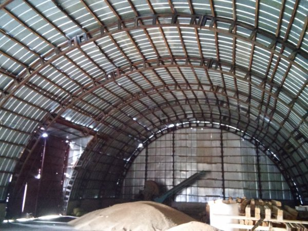 Фото 1 Каркасный арочный ангар 480м.кв. 332404