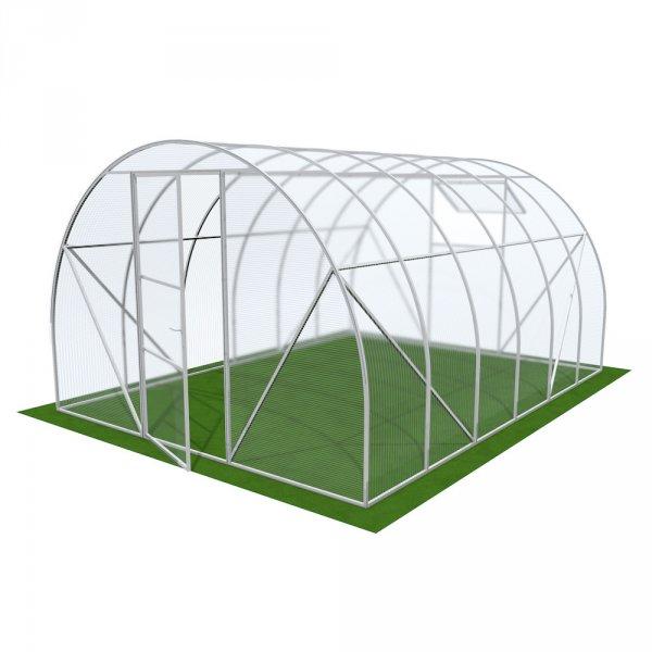 Фото  1 Арочная теплица 4мм Solidprof 4.1x3x2.05м Стандарт 1832891