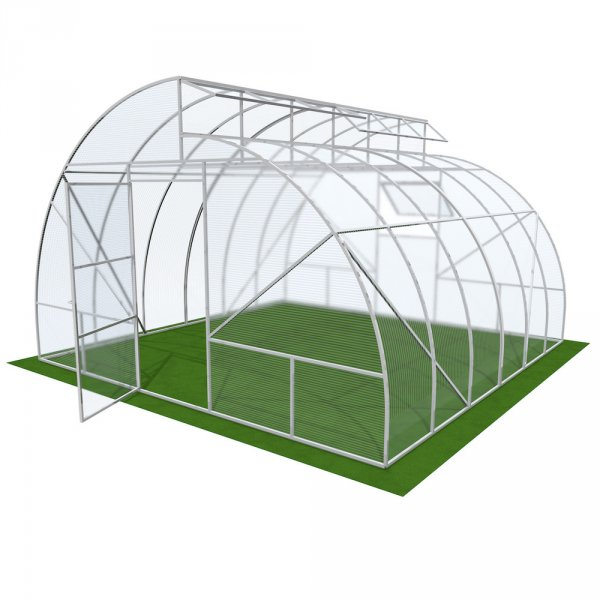 Арочная теплица Митлайдера 4мм Solidprof 4.1x4x2.6м Стандарт
