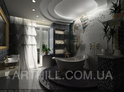 ArtHill-студия дизайна интерьеров и росписи стен в Днепропетровске