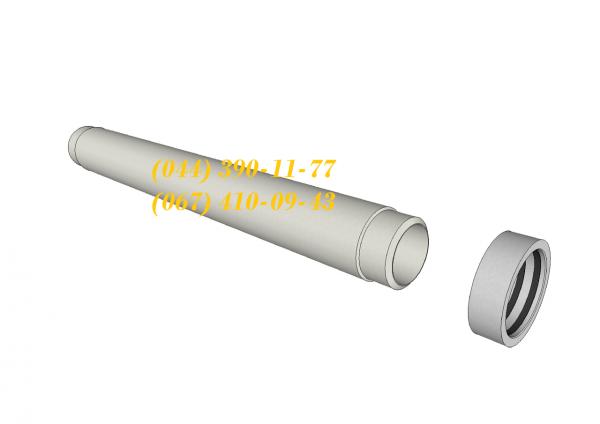 Фото  1 Асбестоцементные трубы напорные ВТ-6 400 (L4) (компл.) 1941334