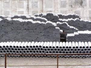 Асбестоцементных напорных труб ф. 200 Длина трубы, мм, L 5 м (ГОСТ 539-80)