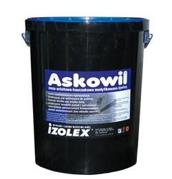 Askowil - эластичная битумно-каучуковая мастика на основе растворителей. Обмазочная гидроизоляция, клей.