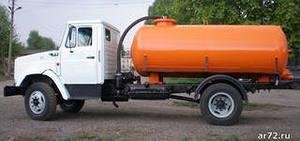 Ассенизаторная машына 2015 ЗИЛ-4331 7м3 выкачка сливных ям , откачка био-туалетов.