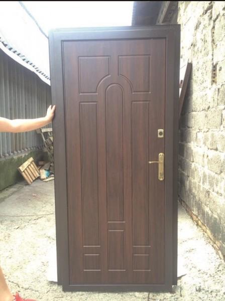 двери металлические распашные заказать
