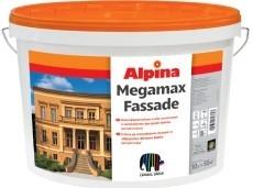 Атмосферостойкая, особо устойчивая к загрязнению фасадная краска экстра-класса ALPINA MEGAMAX FASSADE.