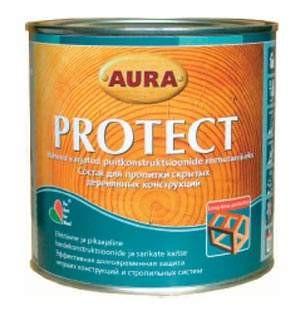 Aura Protect 0.7 л. (Защита для скрытых деревяных конструкций)