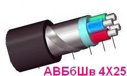АВБбШв 4х25