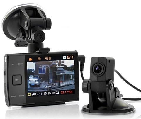 АВТО Видеорегистратор ДВР S3000 L камера-присоска