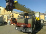Оренда автокрана КРАЗ КТА-25 25т ; КС-3577