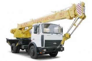 Автокран КС-3579-4-02, г/п 15 тонн, трехсекционная стрела 21 метр.