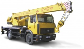 Автокран КС-45729-4-02, г/п 20 тонн, трехсекционная стрела 21 метр.