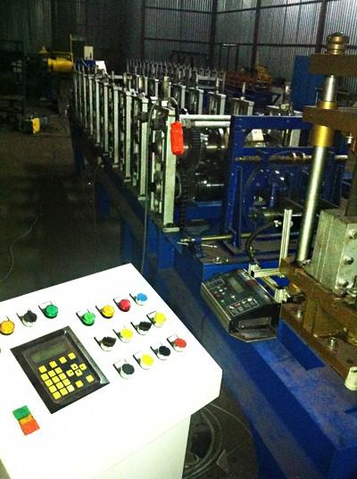 Автоматическая двухручьевая линия для производства профилей КНАУФ