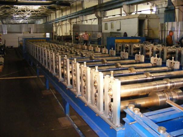Автоматическая линия для производства профнастила Т-12 ЕКО