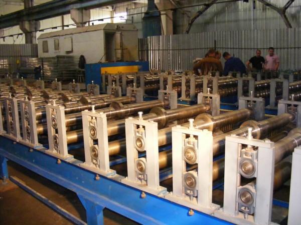 Автоматическая линия для производства профнастила Т-12 PLUS