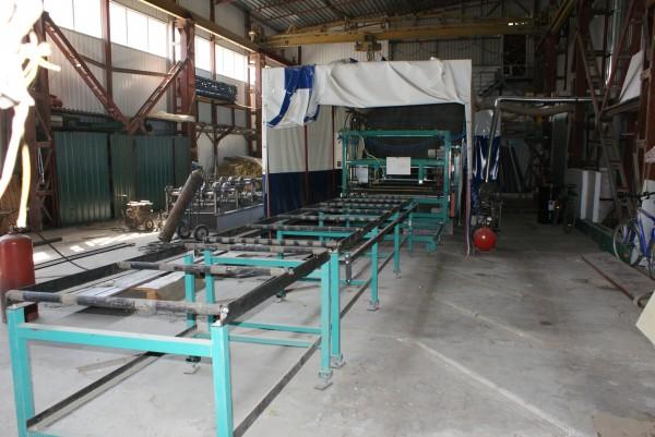 Автоматическая линия для производства сэндвич-панелей