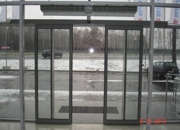Автоматические раздвижные двери TINA 2 Portalp (Франция). Проект, изготовление и монтаж «под ключ»