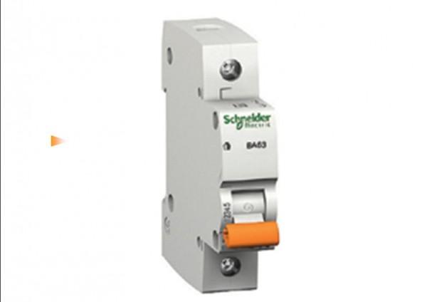 Автоматические выключатели Scheider Electric ВА63 характеристика С 16А 1 полюс