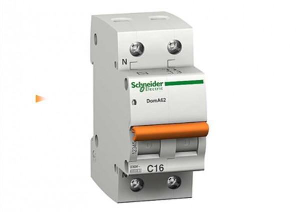 Автоматические выключатели Scheider Electric ВА63 характеристика С 25А 2 полюса
