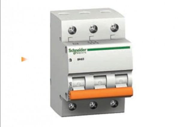 Автоматические выключатели Scheider Electric ВА63 характеристика С 32А 3 полюса
