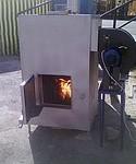 Автоматический теплогенератор на любой биомассе ПОТА-50А