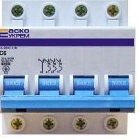 Автоматический выкл. ВА-2002 4р (3 N) 6А-10-16-20-25-32-40 -50-63А