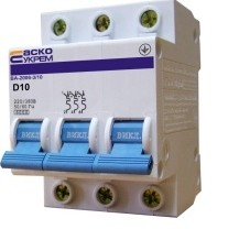 Автоматический выкл. ВА-2006 3р 1А,2А,3А,4А,5А