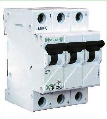 Автоматический выключатель 1-полюс. PL4-B10/1 MOELLER