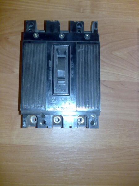 Автоматический выключатель А3163 15А