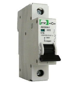 Автоматический выключатель АВ 2000 ЭКО С 1х25А