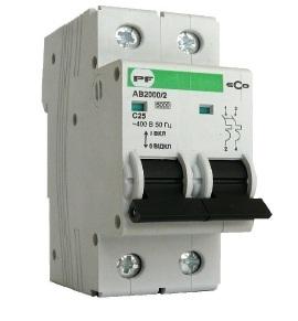 Автоматический выключатель АВ 2000 ЭКО С 2х25А