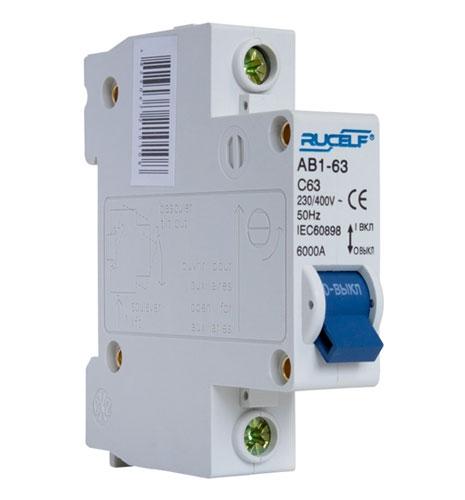 Автоматический выключатель АВ1-1-63